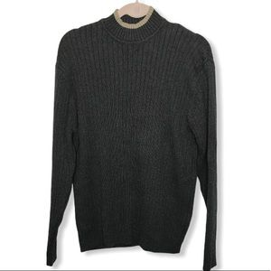 DOCKERS Mens Pullover Knit Ling Sleeve Sweater